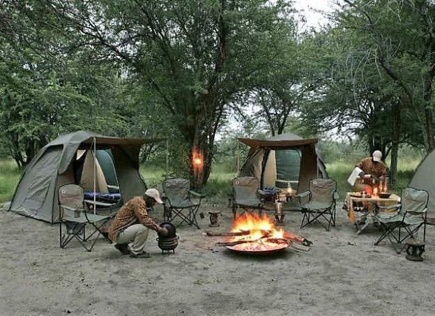 Camping in some of the most beautiful locations in East Africa